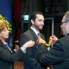 Imagen Primer graduado recibió Medalla doctoral