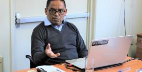 Imagen Edison Cárdenas presenta proyecto de tesis doctoral