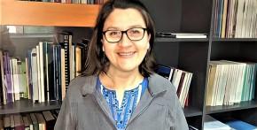 Imagen Ximena Macaya, primera laborante UdeC en obtener el grado de Doctora